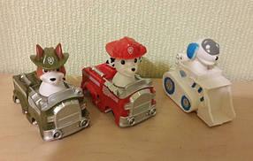 Набор из 3 машинок героев Щенячий патруль