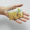 Картхолдер v.1.0. Fisher Gifts  11 I love Ukraine - пшеница (эко-кожа), фото 3