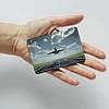 Картхолдер v.1.0. Fisher Gifts  40 Самолет (эко-кожа), фото 3