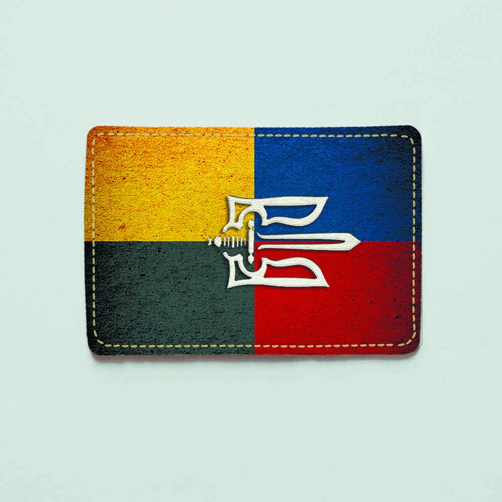 Картхолдер v.1.0. Fisher Gifts  51 Украина - УПА (эко-кожа)