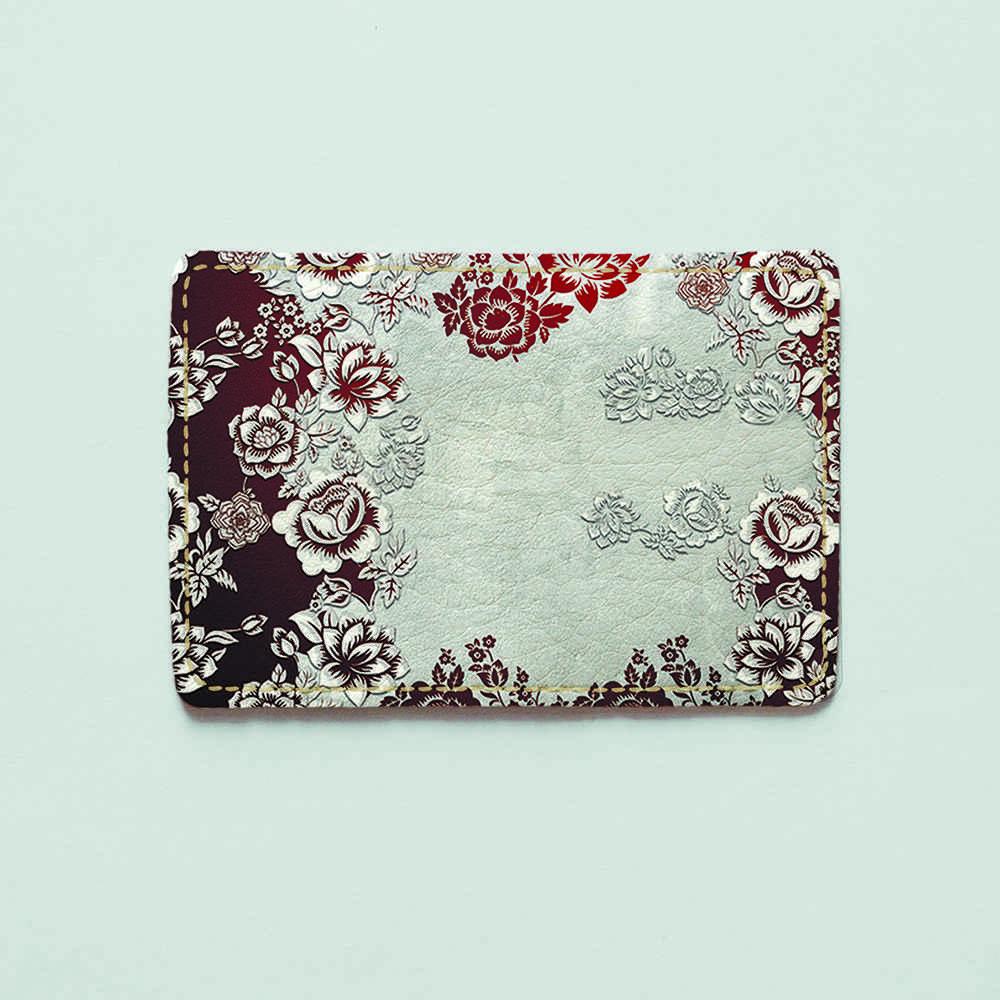 Картхолдер v.1.0. Fisher Gifts  56 Фешн цветы (эко-кожа)