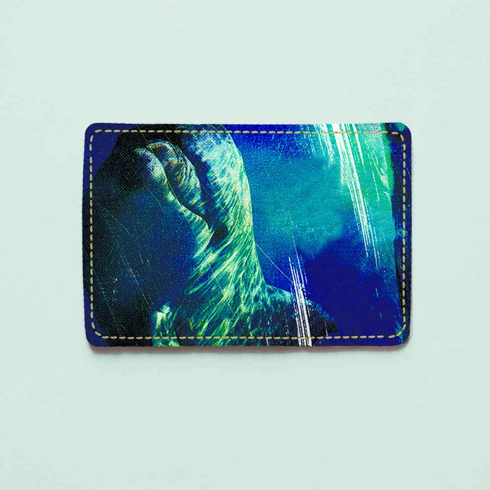 Картхолдер v.1.0. Fisher Gifts  62 Дельфины (эко-кожа)