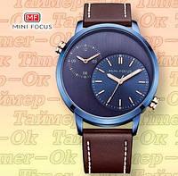Наручные часы Mini Focus Винтаж двойное время, фото 1