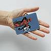 Картхолдер 1.0 Fisher Gifts 102 Дэдпул и кот (эко-кожа), фото 3