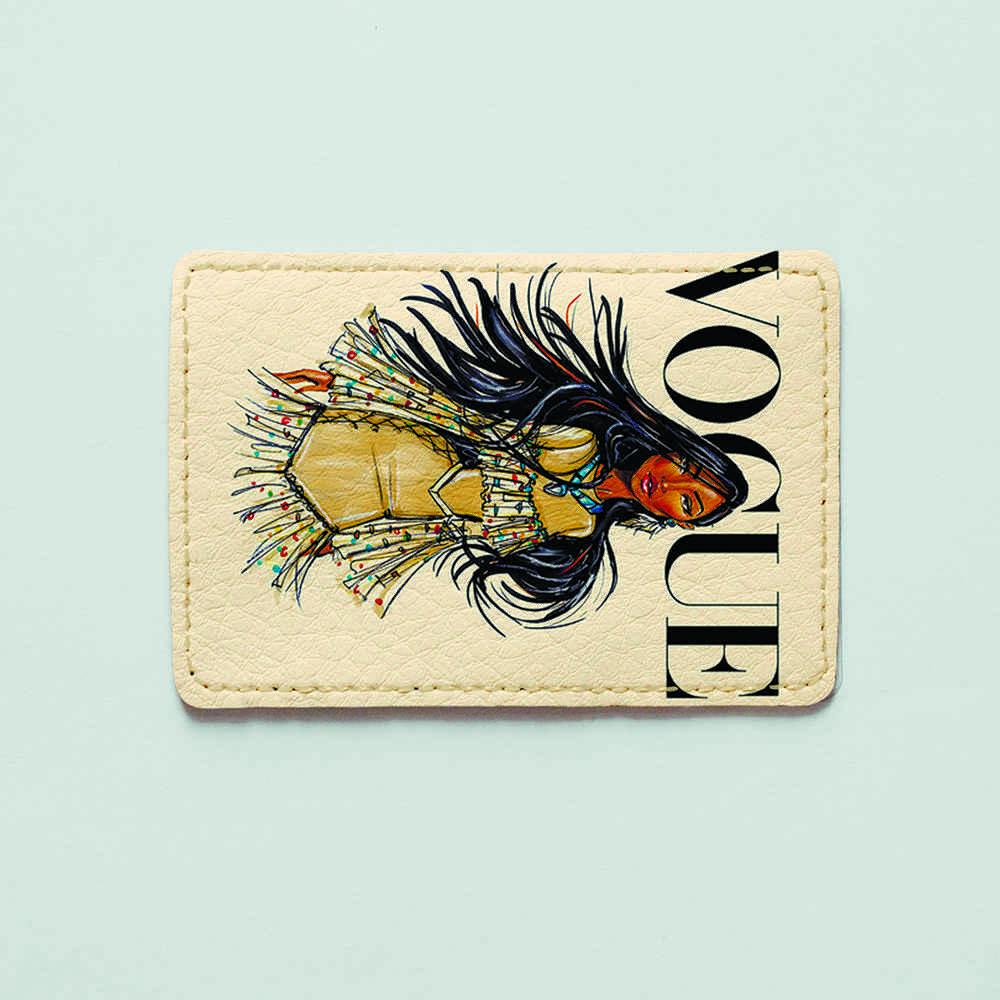 Картхолдер v.1.0. Fisher Gifts  125 Покахонтас VOGUE (эко-кожа)