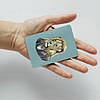 Картхолдер v.1.0. Fisher Gifts  130 Джентельмен лев (эко-кожа), фото 3
