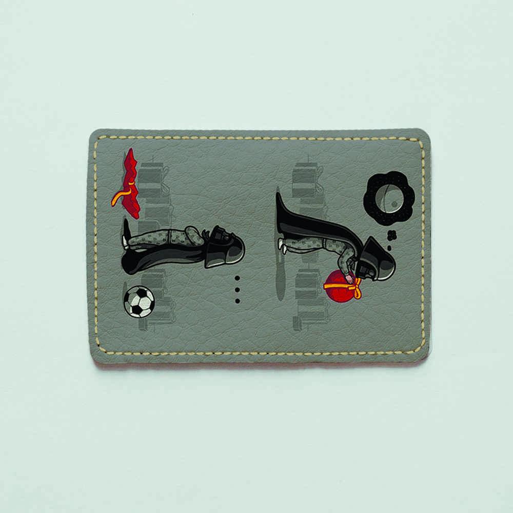 Картхолдер v.1.0. Fisher Gifts  153 Маленький Дарт Вейдер (эко-кожа)