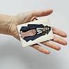 Картхолдер v.1.0. Fisher Gifts  160 Девушка VOGUE 12 (эко-кожа), фото 3