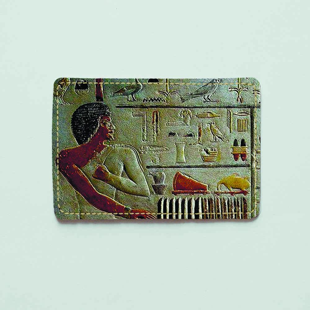 Картхолдер v.1.0. Fisher Gifts  168 Египетские иероглифы (эко-кожа)