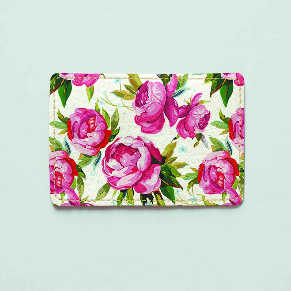 Картхолдер v.1.0. Fisher Gifts  181 Нарисованные розы (эко-кожа)