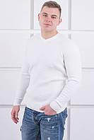 Мужской свитер (белый) размер Л, фото 1
