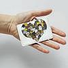 Картхолдер v.1.0. Fisher Gifts  197 I love cats - сердечко (эко-кожа), фото 3