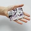 Картхолдер v.1.0. Fisher Gifts  202 Гламурная девушка с туннелями (эко-кожа), фото 3
