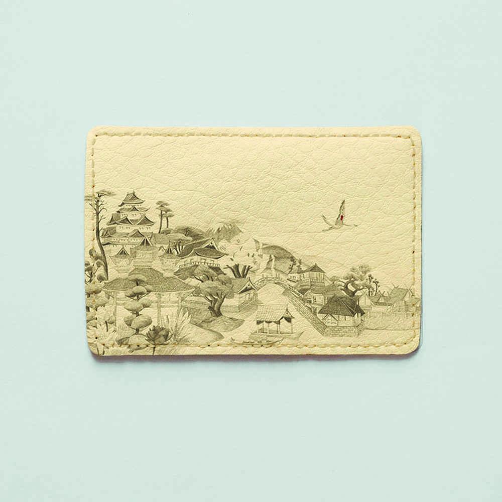 Картхолдер Fisher Gifts 210 Китайское село (эко-кожа)