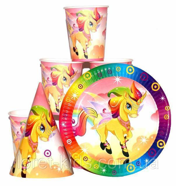 Набор для детского дня рождения  Единорог