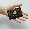 Картхолдер v.1.0. Fisher Gifts  214 Креативный смайлик (эко-кожа), фото 3