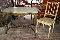 Столик со стулом кон 19 века Европа