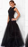 Вечернее  Платье фатин 4376204
