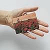 Картхолдер v.1.0. Fisher Gifts  268 Красные маки в жаркое утро (эко-кожа), фото 3