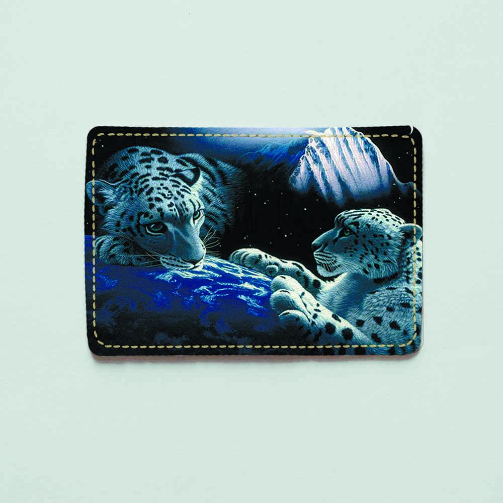 Картхолдер v.1.0. Fisher Gifts  275 Космический гепард (эко-кожа)