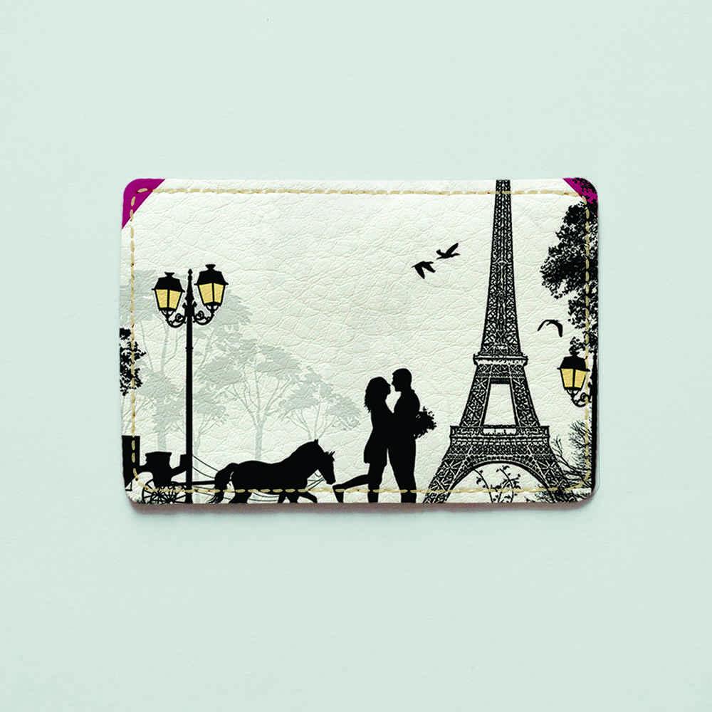 Картхолдер v.1.0. Fisher Gifts  276 Любовь в Париже (эко-кожа)