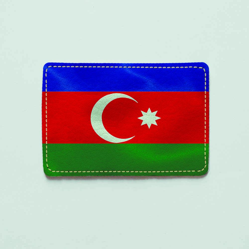 Картхолдер v.1.0. Fisher Gifts  300 Azerbaijan Republic (эко-кожа)