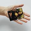 Картхолдер v.1.0. Fisher Gifts  304 Мона Лиза. Леонардо да Винчи (эко-кожа), фото 3