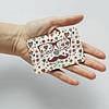 Картхолдер v.1.0. Fisher Gifts  316 Усатый арт с сердечками (эко-кожа), фото 3