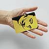 Обложка для id паспорта, карты, автодокументов 1.0 Fisher Gifts  318 Сальвадор Дали желтый (эко-кожа), фото 3