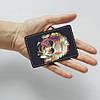 Обложка для id паспорта, карты, автодокументов 1.0 Fisher Gifts  319 Разноцветный Альберт Эйнштейн (эко-кожа), фото 3