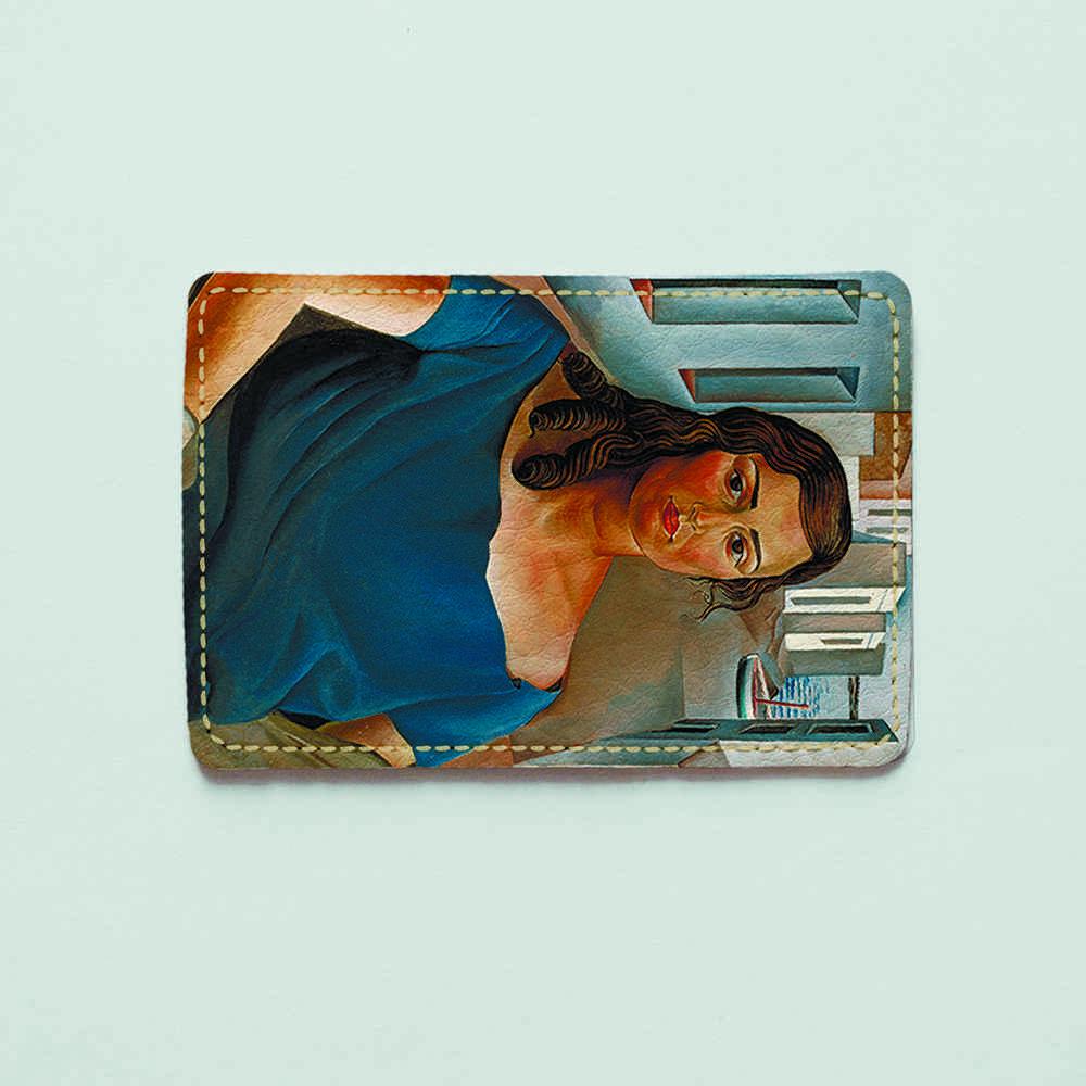 Картхолдер v.1.0. Fisher Gifts  328 Анна Мария. Сальвадор Дали (эко-кожа)