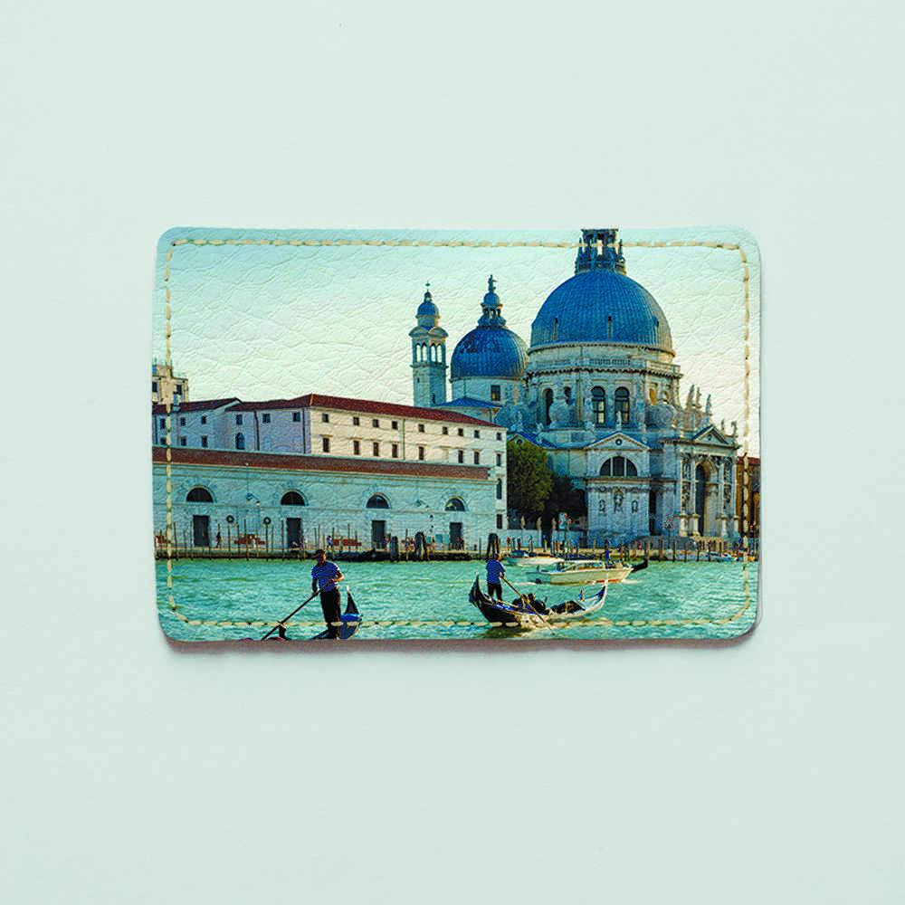 Картхолдер v.1.0. Fisher Gifts  342 Венеция днем (эко-кожа)