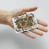 Картхолдер v.1.0. Fisher Gifts  364 Петриковский огнецвет (эко-кожа), фото 3