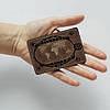 Картхолдер v.1.0. Fisher Gifts  373 Черепаха мира (эко-кожа), фото 3
