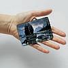 Обложка для id паспорта, карты, автодокументов 1.0 Fisher Gifts  385 Вечерние горы (эко-кожа), фото 3