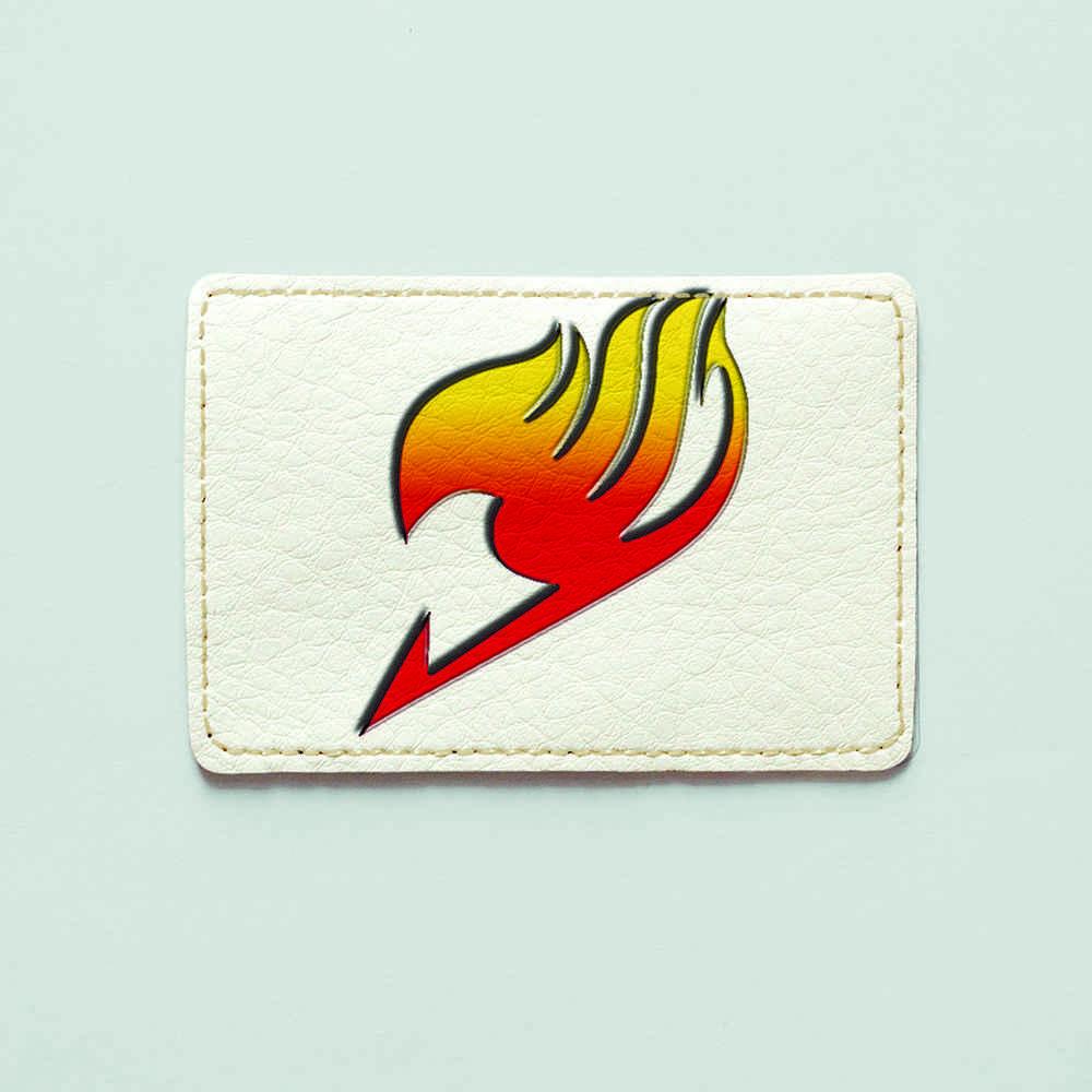 Обложка для id паспорта, карты, автодокументов 1.0 Fisher Gifts  393 Fairy Tail 6 (эко-кожа)