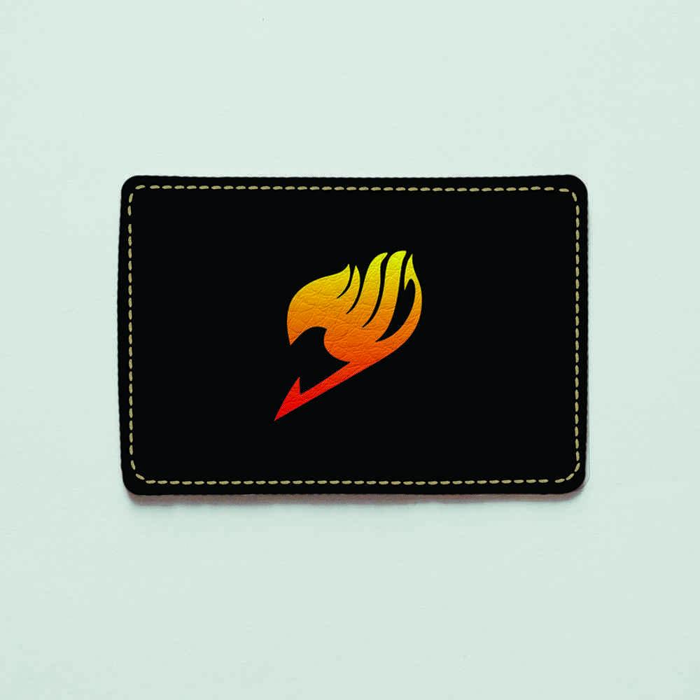Картхолдер v.1.0. Fisher Gifts  395 Fairy Tail 7 (эко-кожа)