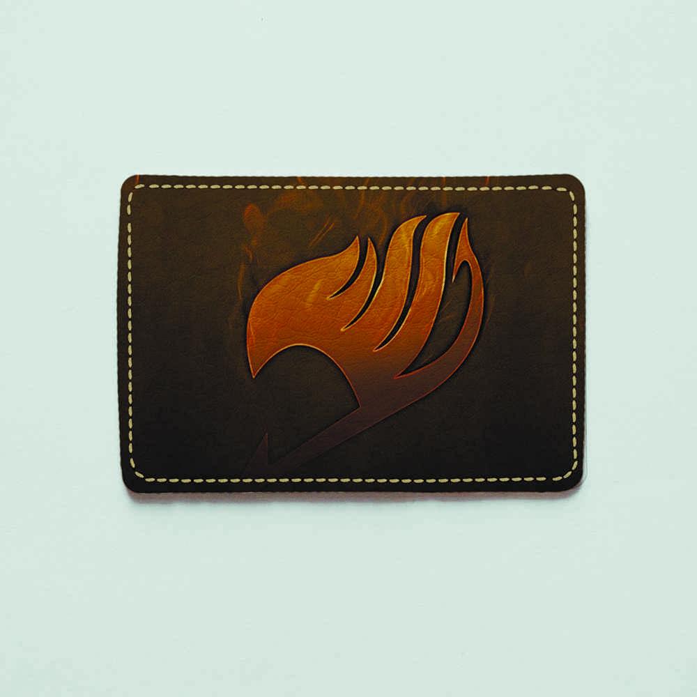 Картхолдер v.1.0. Fisher Gifts  398 FairyTail 10 (эко-кожа)