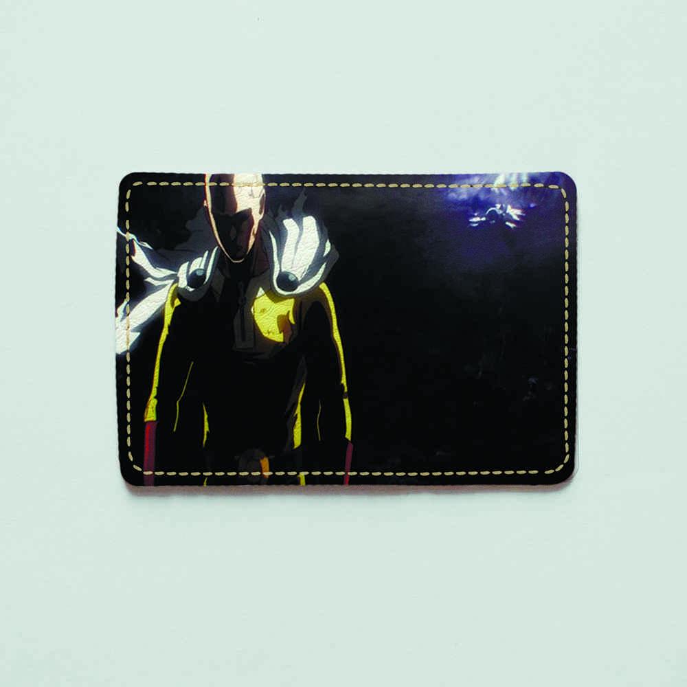 Картхолдер v.1.0. Fisher Gifts  399 One Punch man (эко-кожа)