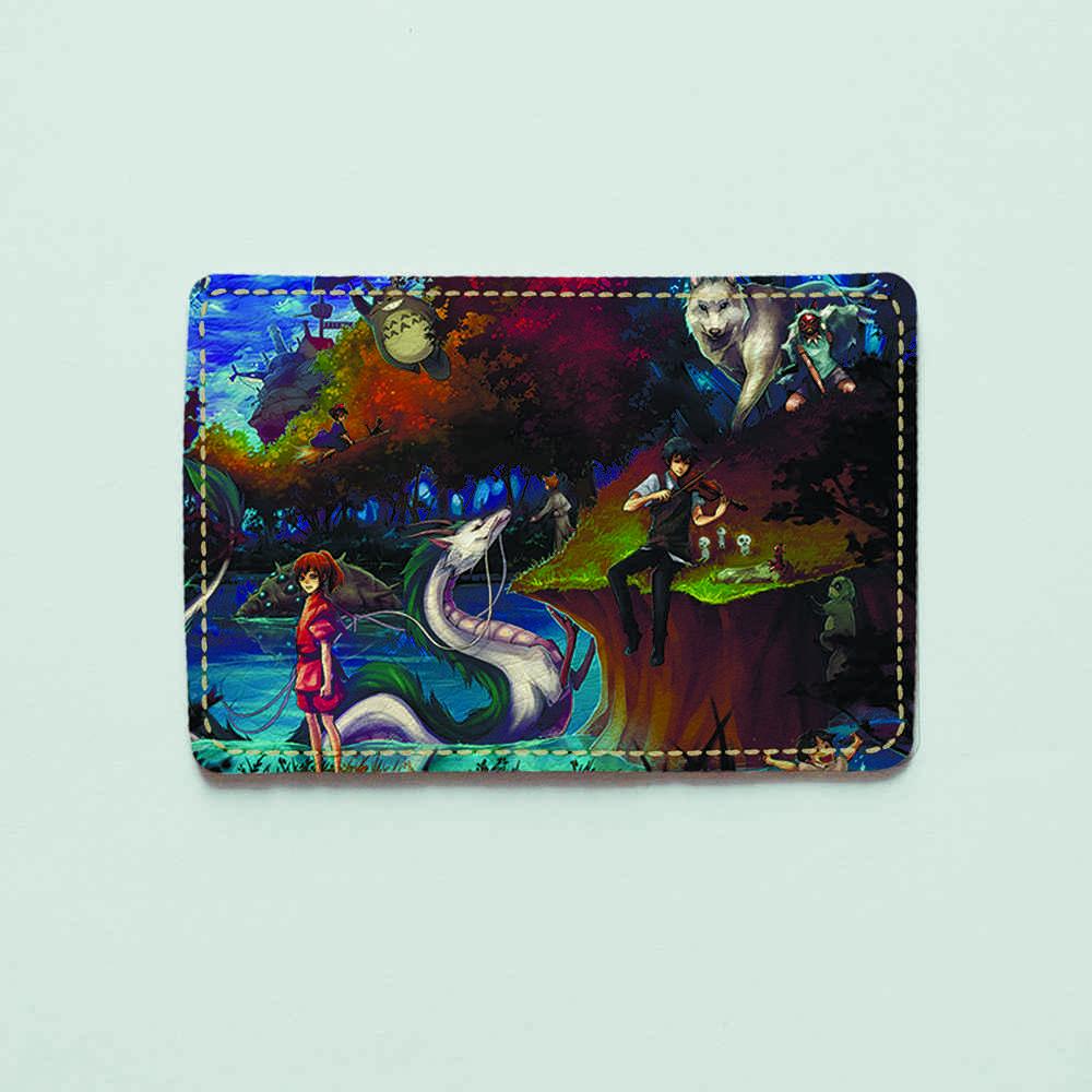 Картхолдер v.1.0. Fisher Gifts  425 Тоторо в сказочном мире (эко-кожа)