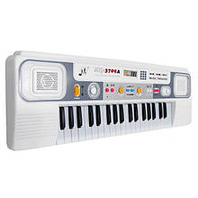 Дитячий синтезатор Білий
