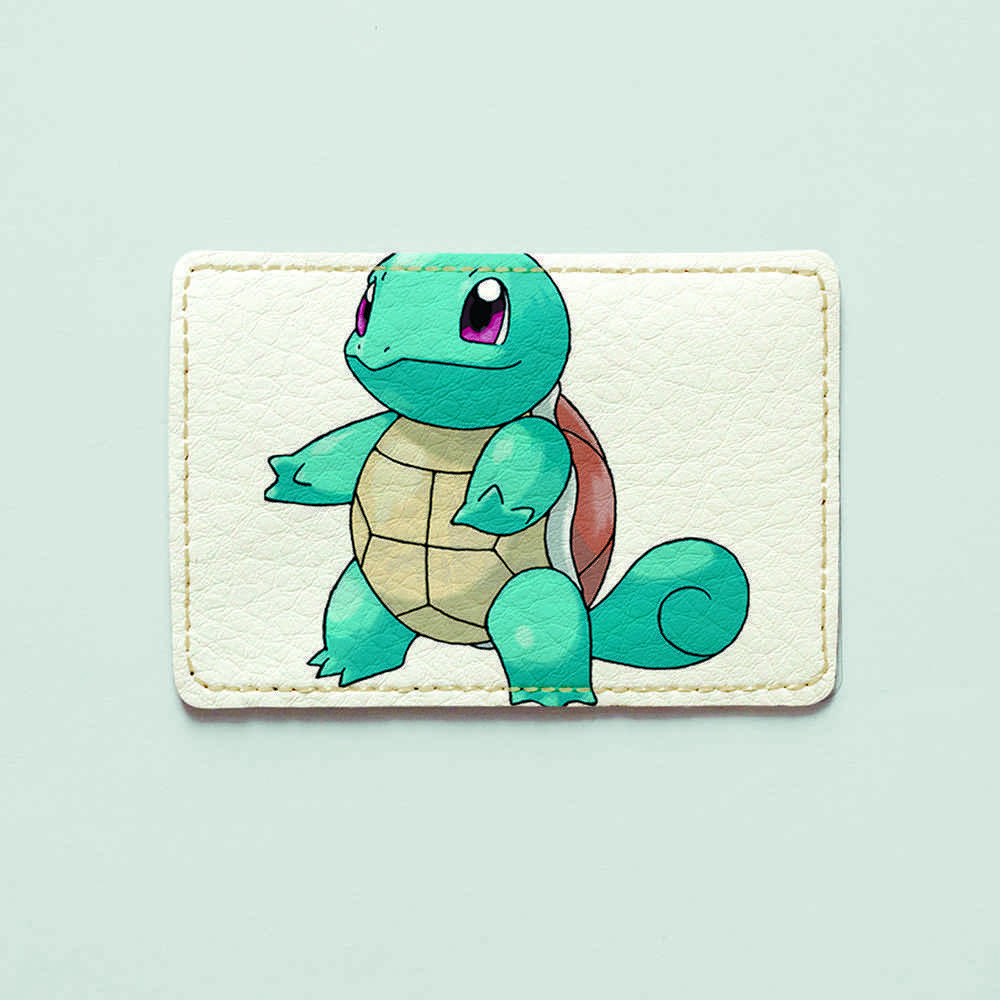 Картхолдер v.1.0. Fisher Gifts  473 Squirtle (эко-кожа)