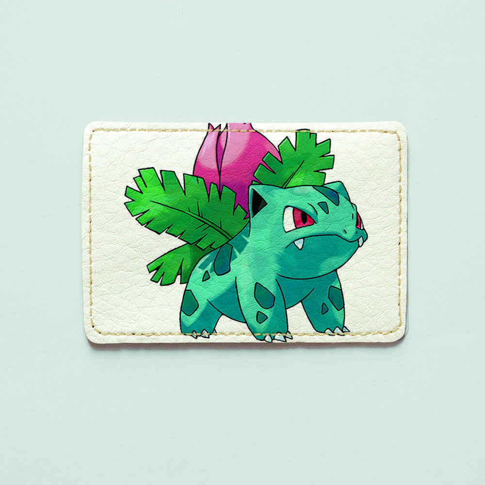 Картхолдер v.1.0. Fisher Gifts  471 Ivysaur (эко-кожа)