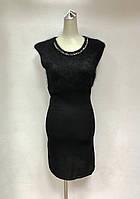Короткое платье без рукава трикотаж кашемир, фото 1