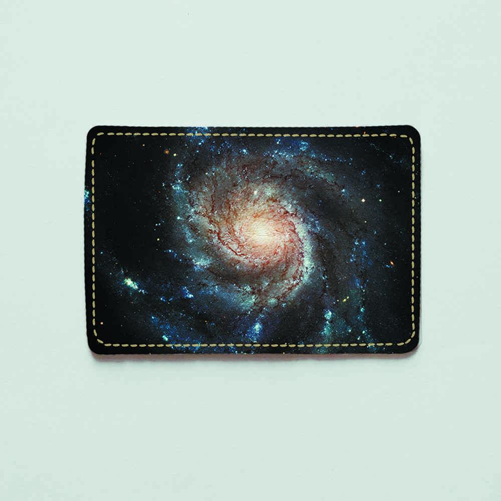 Картхолдер v.1.0. Fisher Gifts  521 Галактическая спираль (эко-кожа)