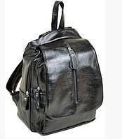 Рюкзак кожаный женский  F1121 Black