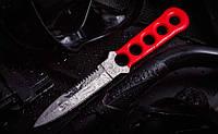 Нож для дайвинга Лангуст, с волнистой заточкой на обухе