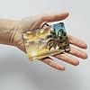 Картхолдер v.1.0. Fisher Gifts  592 Море, пальмы, облака (эко-кожа), фото 3