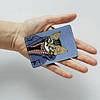 Картхолдер v.1.0. Fisher Gifts  596 Кот на стиле (эко-кожа), фото 3