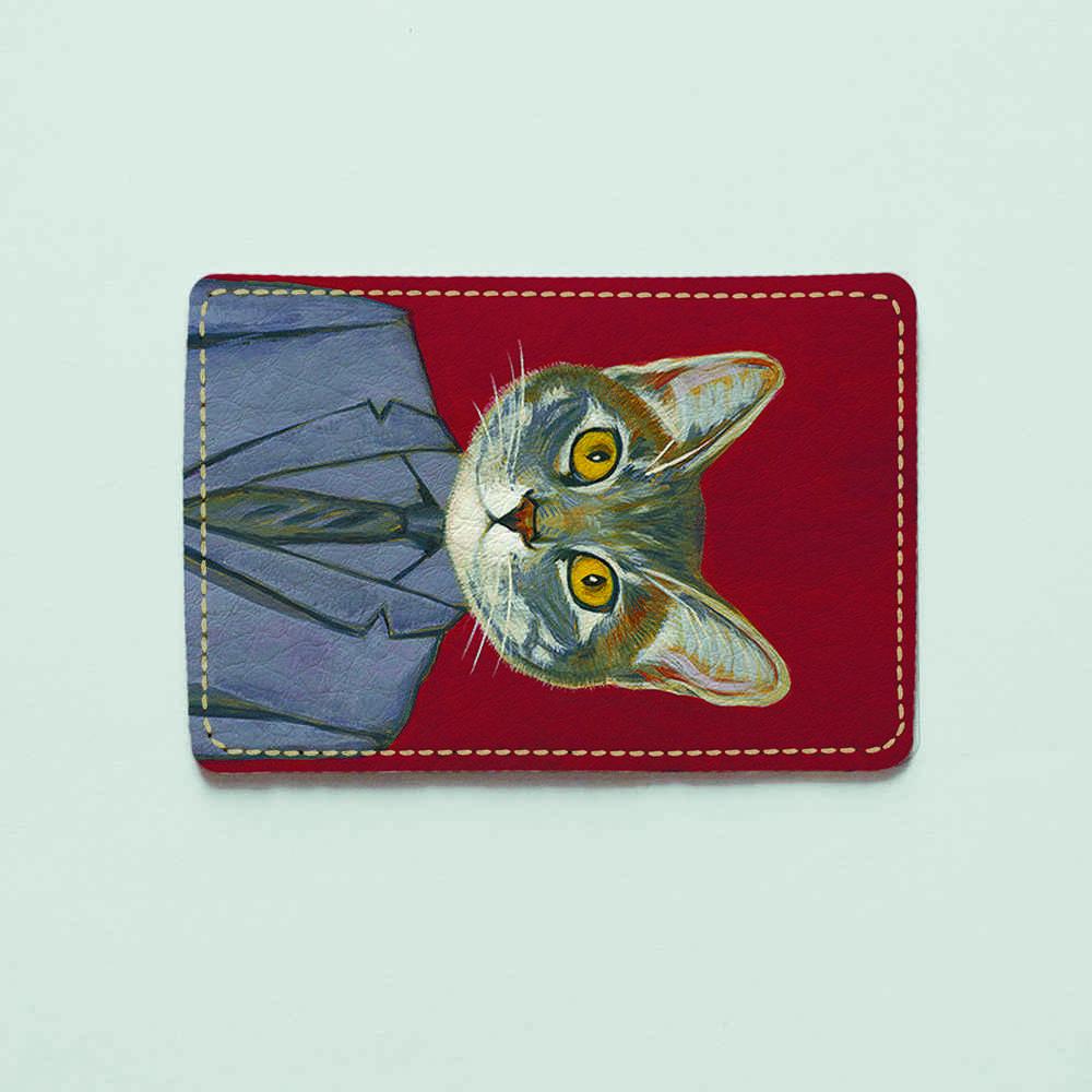 Картхолдер v.1.0. Fisher Gifts  602 Торговый представитель (эко-кожа)